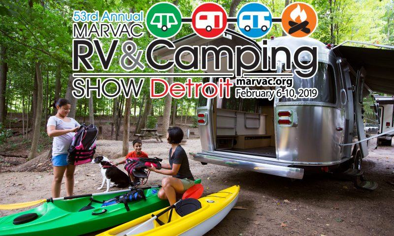 2019 Detroit RV & Camping Show