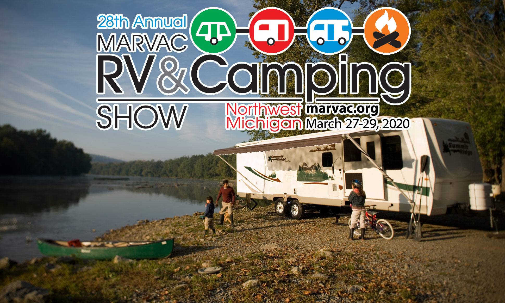 28th Annual Northwest Michigan RV & Camping Show March 27-29