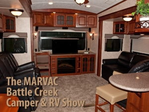 The MARVAC Battle Creek Camper & RV Show @ Kellogg Arena, One McCamly Square | Battle Creek | Michigan | United States
