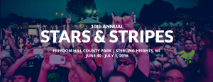 10th Annual Stars & Stripes Festival @ Freedom Hill County Park  | Sterling Heights | Michigan | United States