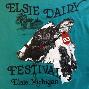 Elsie Dairy Festival 2016 @ Located 6 MI north of M-21 on Hollister Rd; 6 MI south of M-57 on Mason Rd, or 9 MI east of US-27 on Hyde/Island Rd | Elsie | Michigan | United States