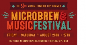 Traverse City Microbrew and Music Festival @ The Front Lawn at The Village at Grand Traverse Commons | Traverse City | Michigan | United States