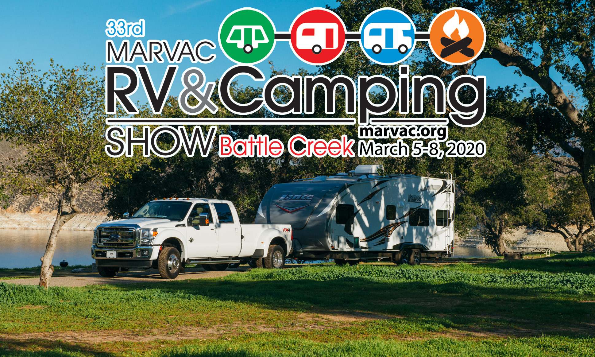 The 33rd Battle Creek RV & Camping Show - MARVAC