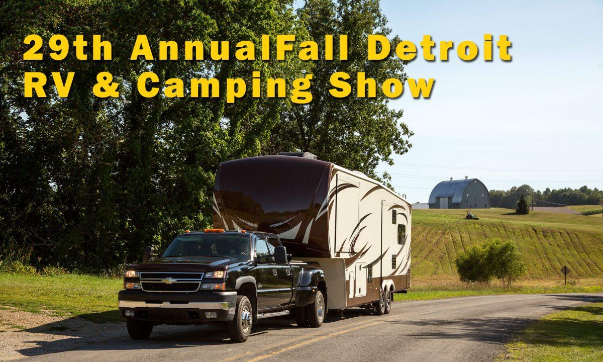 Fall Detroit RV & Camping Show
