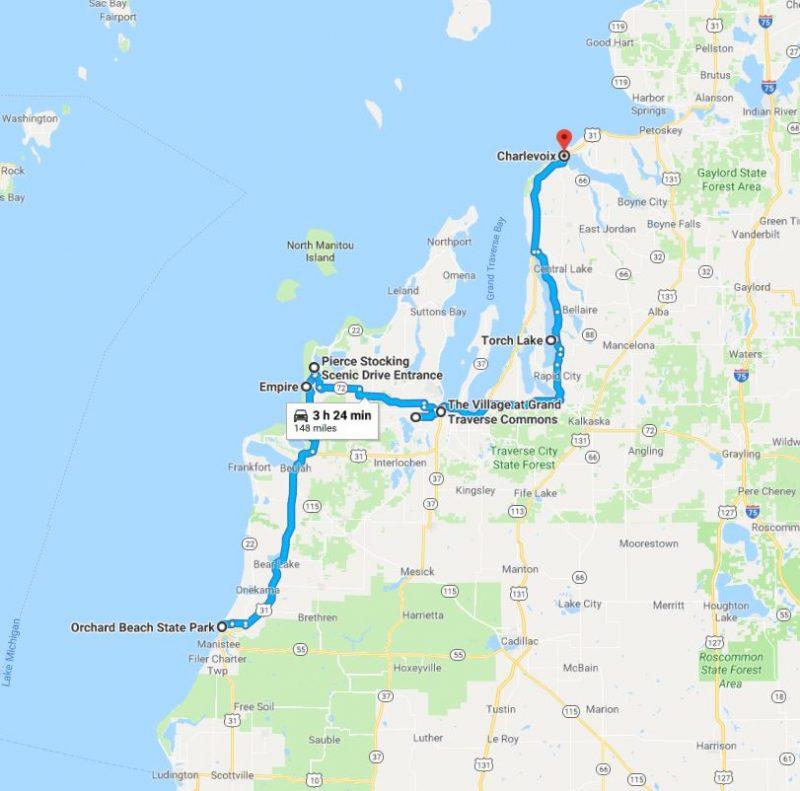 Lake Michigan Driving Tour