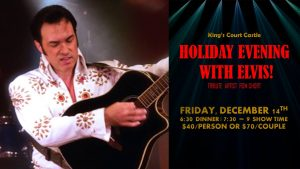 Holiday Evening with Elvis @ King's Court Castle | Orion charter Township | Michigan | United States