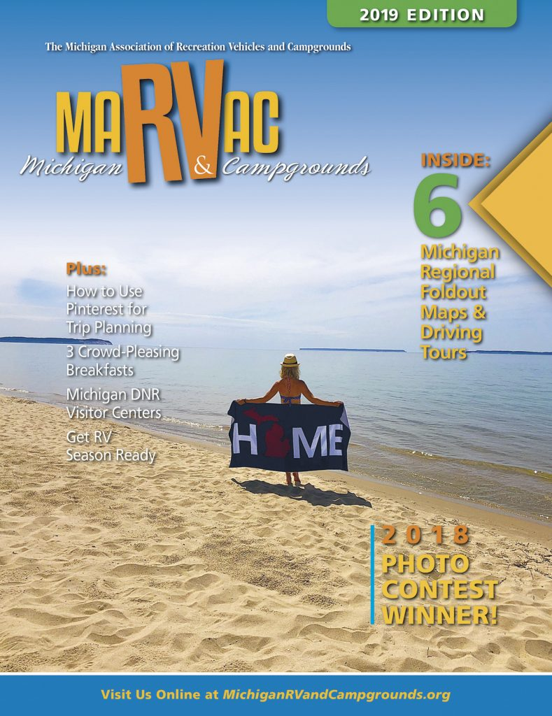 Michigan Rv Campgrounds Is The Official Consumer Publication For Ociation Of Recreation Vehicles And