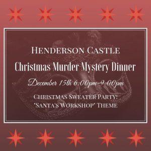 Christmas Sweater Murder Mystery Dinner @ Henderson Castle | Kalamazoo | Michigan | United States
