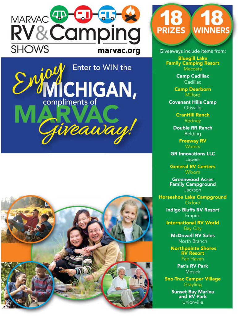 MARVAC RV & Camping Show Contest
